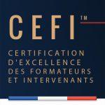 Delphine Machenaud IFDM Relooking est certifiée CEFI (Certification d'Excellence des Formateurs et Intervenants) par le CNFPI (SCORF)